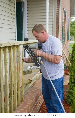 Carpenter Building Porch Rail