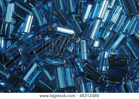 Blue Glass Tubules