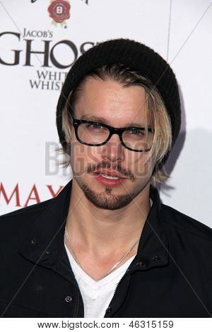 LOS ANGELES - MAY 15:  Chord Overstreet arrives at the 2013 Maxim Hot 100 Party at the Vanguard on May 15, 2013 in Los Angeles, CA