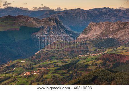 Mountain Landscape,
