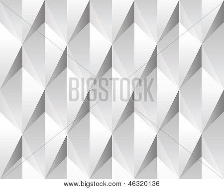 White volumetric abstract texture (seamless).