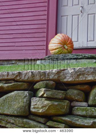 Front Door Pumpkin