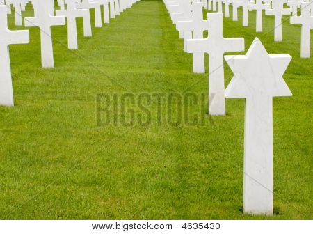 Graves Of American Soldiers
