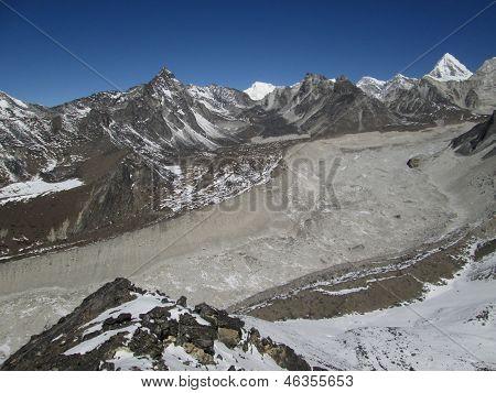 Nuptse Glacier, View From Chhukhung Ri