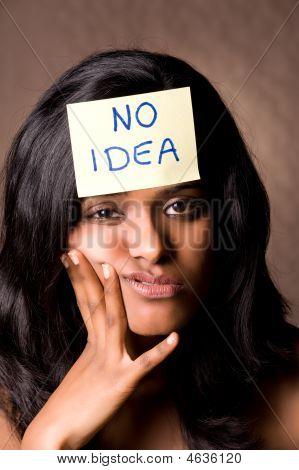 No Idea Brown
