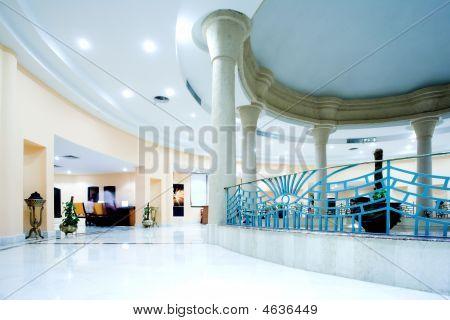 Hall In Modern Hotel