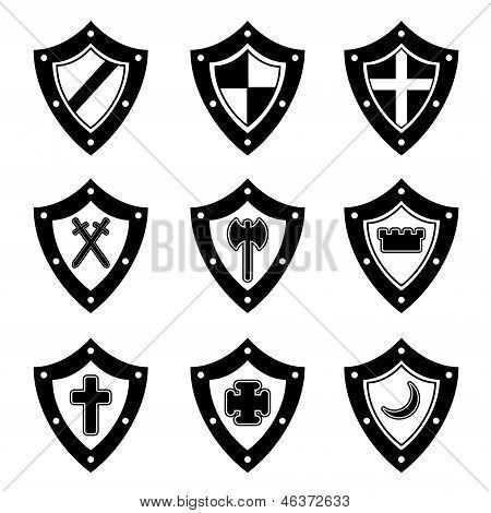 Shields black set