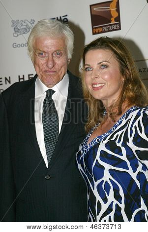 BEVERLY HILLS - MAY 7:Dick Van Dyke & wife arrives at The 12th Annual Golden Hearts Awards presented by The Midnight Mission on Monday, May 7, 2012 at the Beverly Wilshire Hotel in Beverly Hills, CA.