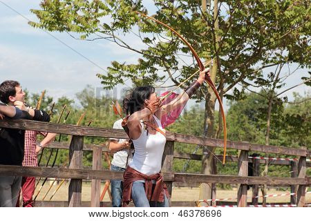 Flying Archery Target