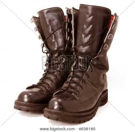 Military Style Boots