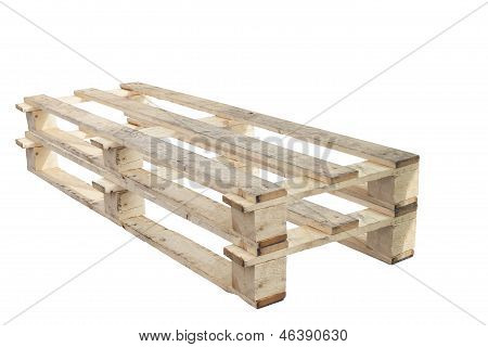 Pallet On With Backgound