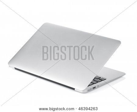 Laptop. Isolated on white background