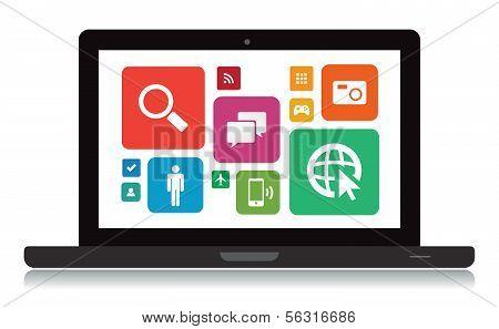 Laptop Technology App