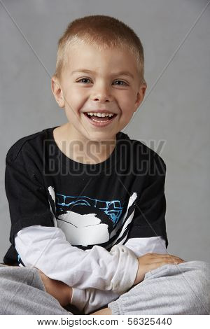 Young Caucasian Boy