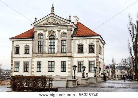 Fryderyk Chopin Museum In Warsaw