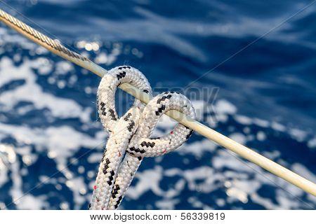 Sailboat Rope Detail