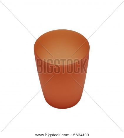 Red Plactic Camping Cup