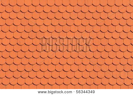Red Roof Tile Pattern