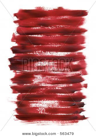 Acrylic Red Texture