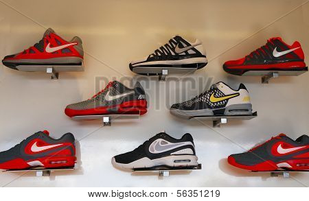 Nike presented new tennis shoes collection during US Open 2013 at National Tennis Center