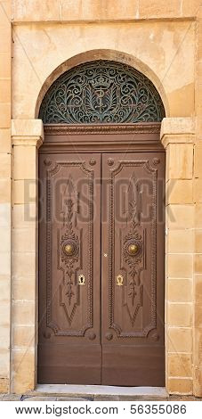 Ancient House Door, Malta