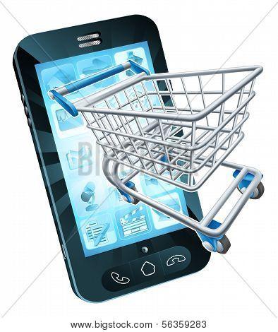 Shopping Cart Mobile Phone