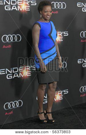 LOS ANGELES - OCT 28:  Viola Davis at the