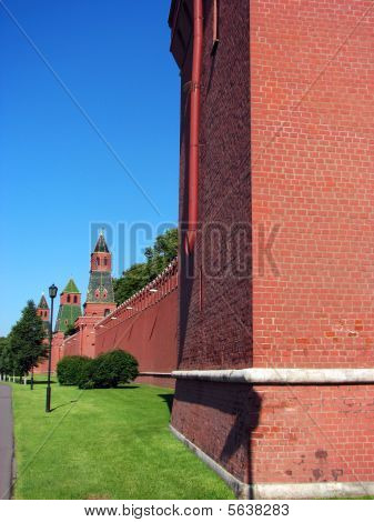 Red Square Wall