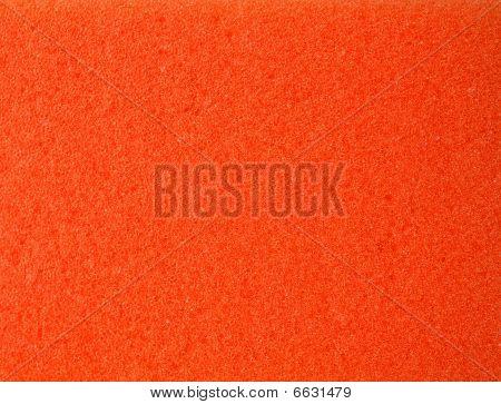Orange Sponge Pores