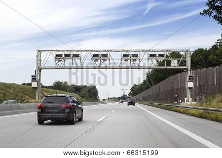 Truck Toll System, German Highway