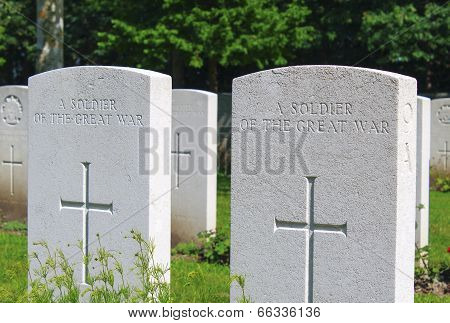 A Soldier Of The Great War Known Unto God Ww1