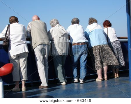 People On A Cruise