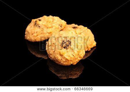 Applesauce Raisin Walnut Cookies