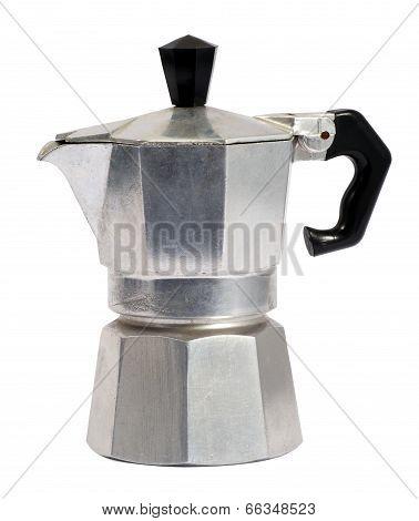 Metal Caffettiera Or Coffee Percolator