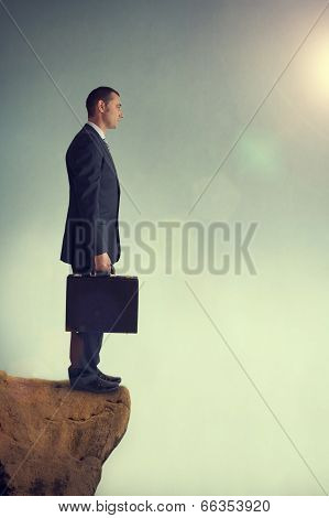 Businessman At An Impasse