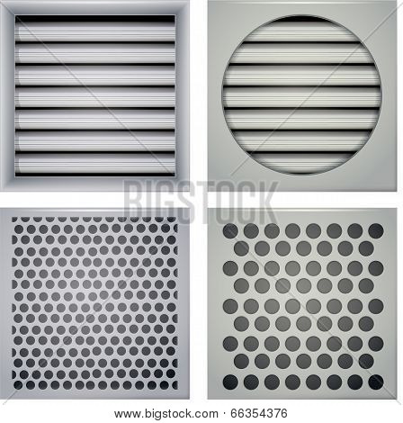 Illustration of ventilation shutters