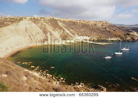 Bay in Malta