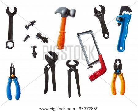 Plastic Kids Tools