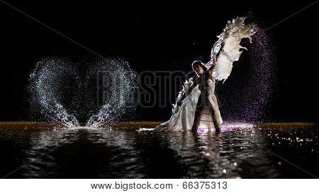 Dancing White Angel