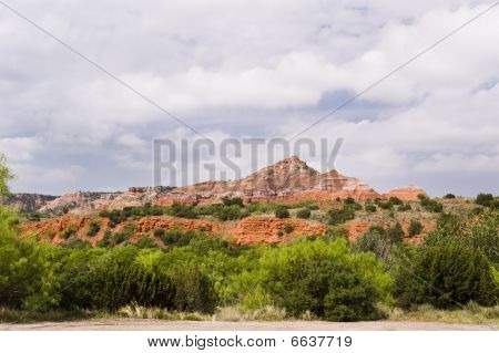 Clouds Over Palo Duro Canyon