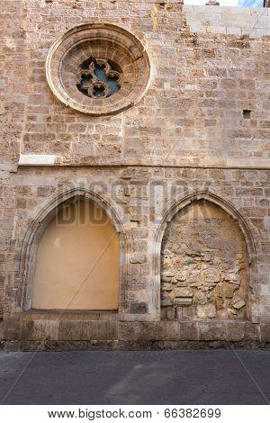 Valencia Santa Catalina church plaza Lope de Vega in Spain