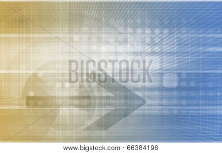 Industry Trends or Business Trending of Data poster