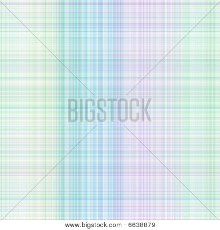 Pastel Colored Gingham Pattern