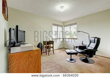 Simple Office Room Interior