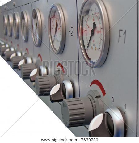 Industrial Equipment Isolated