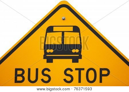 Bus Stop Sign