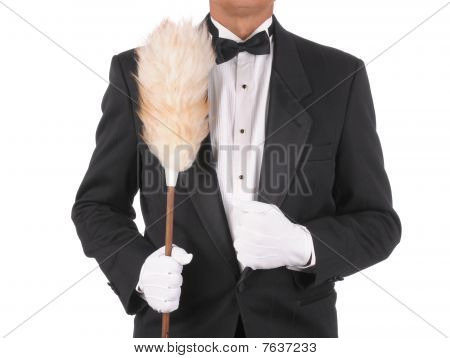 Butler With Duster