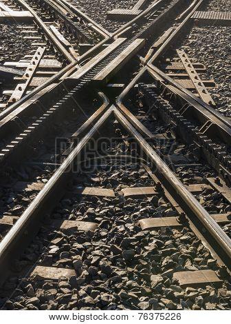 Crossing Rack-railway