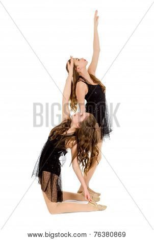 Elegant Lyrical Dance Duo