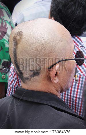 Eccentric Hair Style